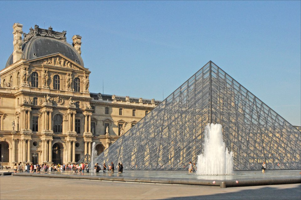 Louvre – one of the world's largest museums